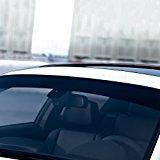 Folientechnik Bayer - 1023 Sonnen-Blendstreifen für die Frontscheibe, Golf 7 GTI R GTD - Streifen Stripes Aufkleber Tuning Zubehör (Schwarz)