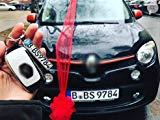Harikuladeshop Minikennzeichen Schlüsselanhänger in High Qualität Nummernschild Autoschilder Kennzeichen Wunschkennzeichen Geschenk